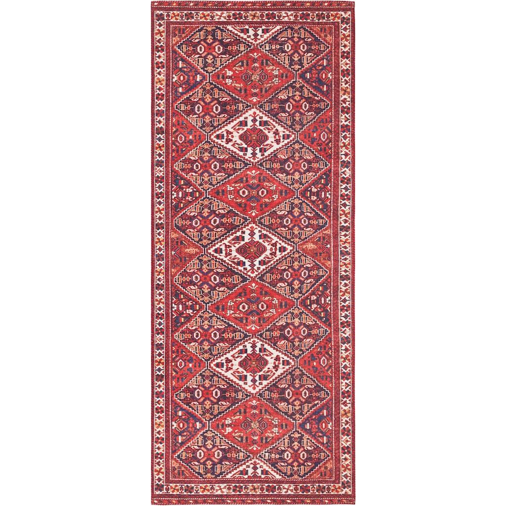 ELLE Decor Läufer »Afghan Kelim«, rechteckig, 5 mm Höhe, Orient-Optik