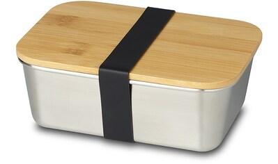 ECHTWERK Lunchbox, (1 tlg.), mit Bambusdeckel kaufen