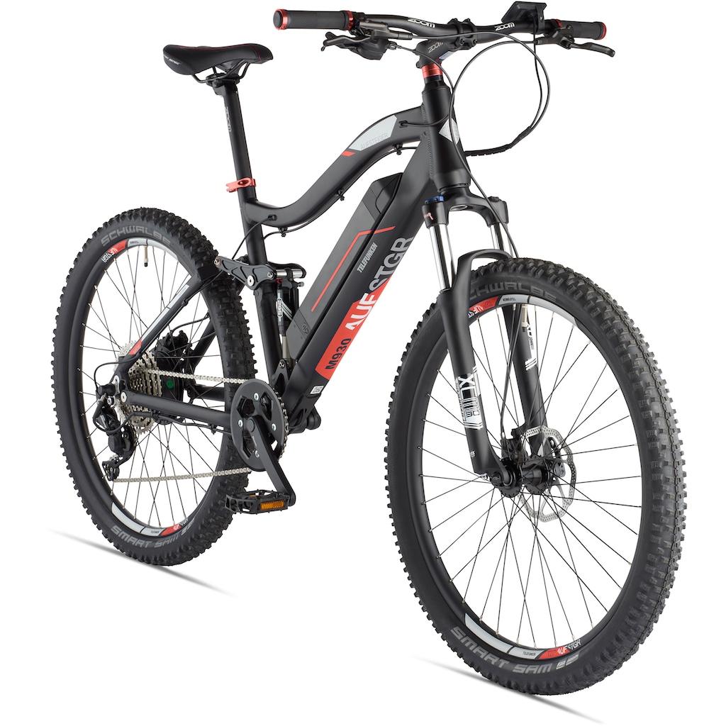 Telefunken E-Bike »Aufsteiger M930«, 10 Gang, Shimano, Deore, Heckmotor 250 W