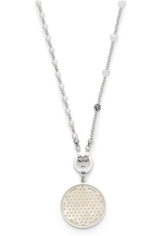 LEONARDO Kette und Anhänger Set »Set Halskette lang Vaporoso Darlin's, 016817«, mit Perlmutt, Glassteinen und imit. Perlen kaufen