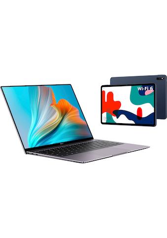 Huawei Notebook »MateBook X Pro 2021 i7 16/1TB, Intel Core i7, Touch, Win10«, ( Intel Core i7 \r\n 1000 GB SSD), 24 Monate Herstellergarantie kaufen