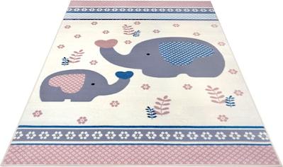 Kinderteppich, »Happy Elefant«, HANSE Home, rechteckig, Höhe 9 mm, maschinell gewebt kaufen