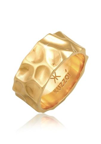Kuzzoi Silberring »Herren Bandring Geschmiedet Used Look 925 Silber« kaufen