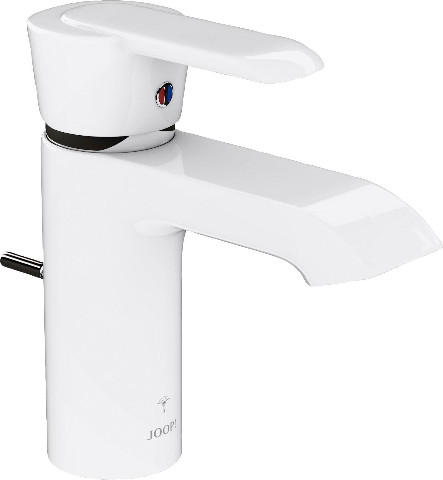 Joop! Joop Waschtischarmatur Slim weiß Waschtischarmaturen Badarmaturen Bad Sanitär Armaturen