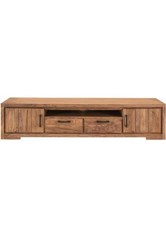 SIT Lowboard »Sanam«, aus Sheesham Holz mit schöner Struktur, Breite 205 cm kaufen