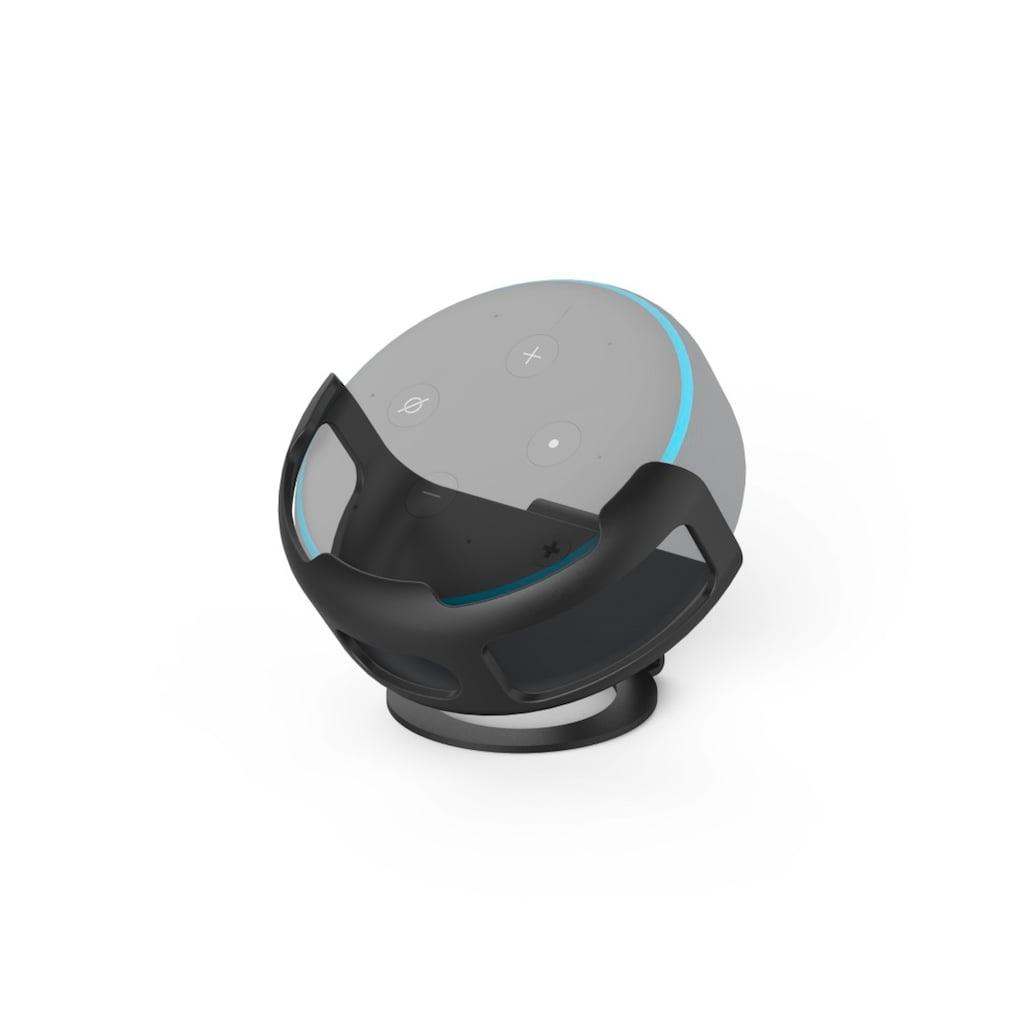 Hama Lautsprecherständer für Amazon Echo Dot, Standfuß, rund