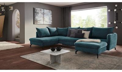 Nova Via Wohnlandschaft, Premium Artikel, wahlweise mit Bettfunktion kaufen