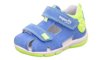Superfit Sandale »Freddy WMS Weiten-Messsystem: mittel«, mit Klettverschluss kaufen