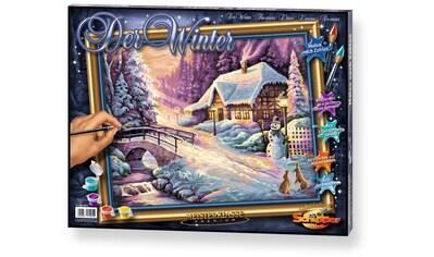 Schipper Malen nach Zahlen »Meisterklasse Premium Der Winter«, Made in Germany kaufen