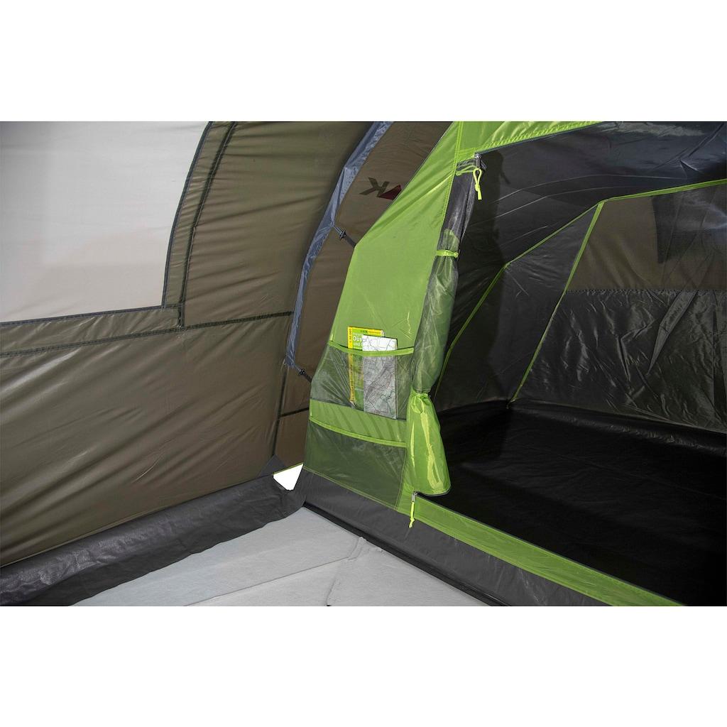 High Peak Tunnelzelt »Zelt Naxos 3.0«, 3 Personen, (mit Transporttasche)