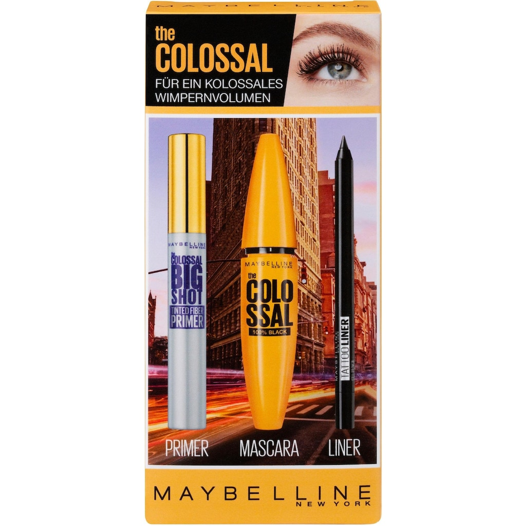 MAYBELLINE NEW YORK Make-up Set »The Colossal«, (3 tlg.)