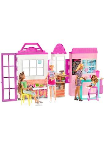 Barbie Spielwelt »Restaurant Bistro«, mit Puppe (blond) und Zubehör kaufen
