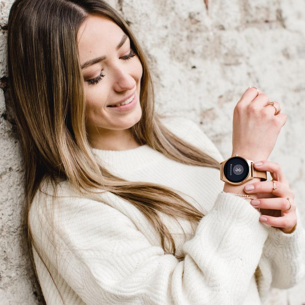 X-Watch Stilvolle Smartwatch und Finesstracker für Damen