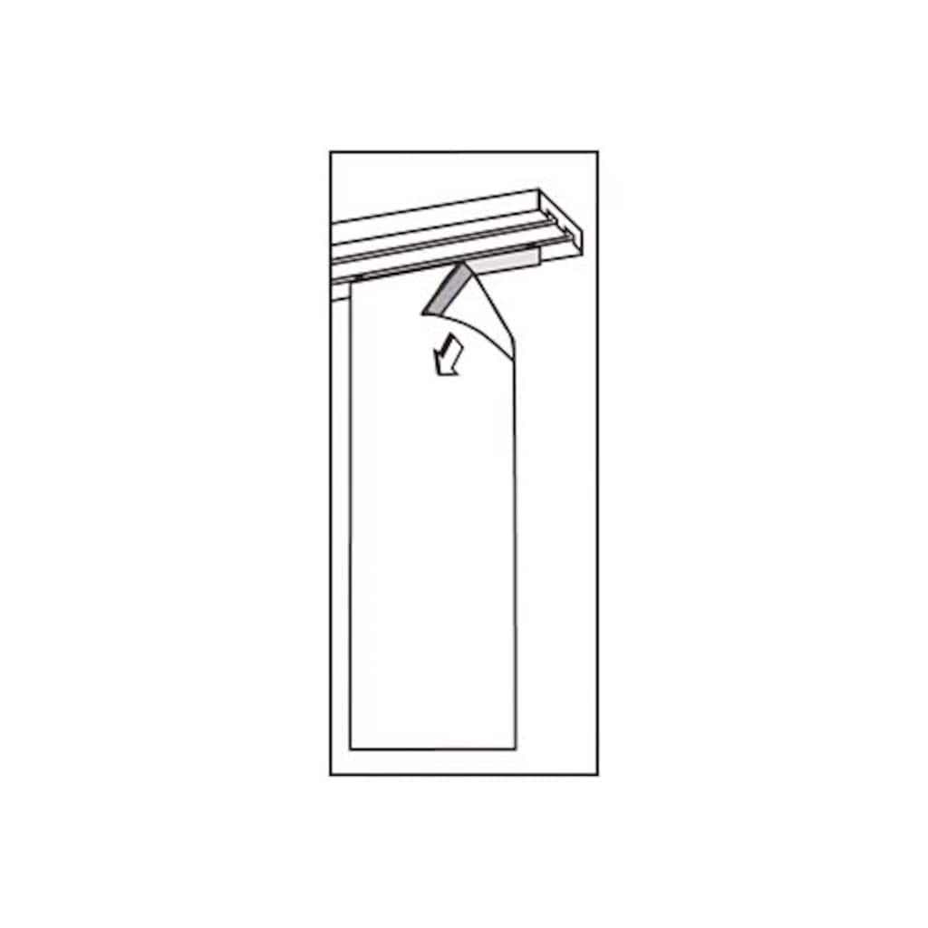 HOME WOHNIDEEN Schiebegardine »DAN«, HxB: 245x60, inkl. Befestigungszubehör
