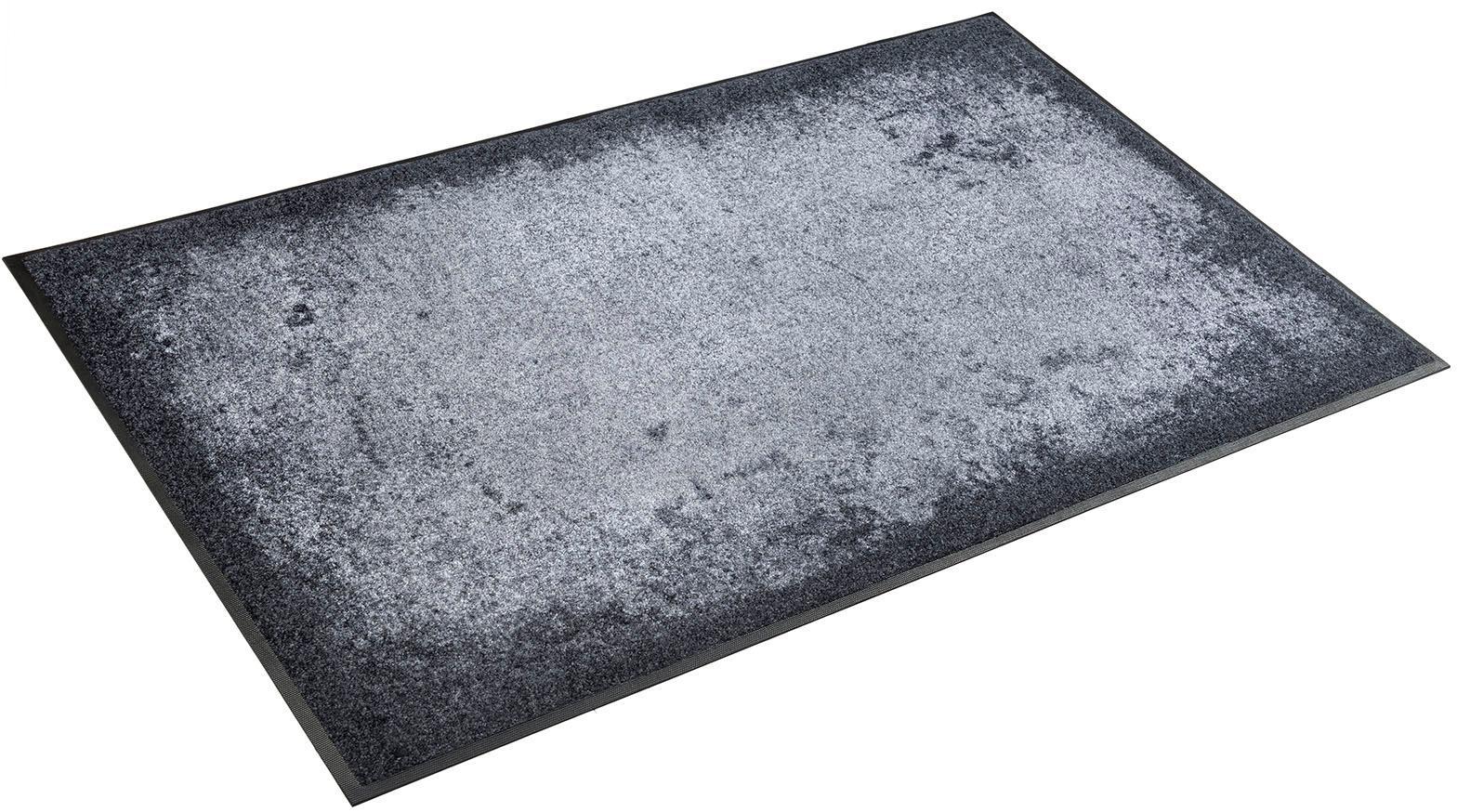 Teppich Shades of Grey wash+dry by Kleen-Tex rechteckig Höhe 7 mm gedruckt