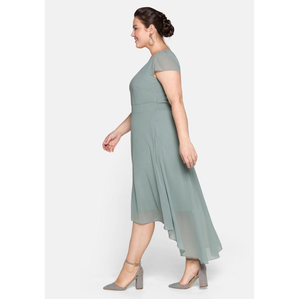 Sheego Abendkleid, mit Flügelärmeln
