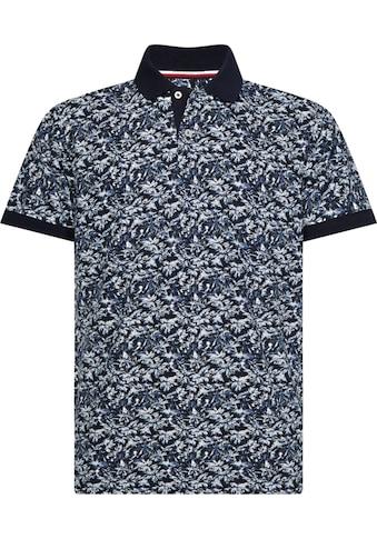 Tommy Hilfiger Big & Tall Poloshirt »BIG & TALL LEAF PRINT REGULAR POLO« kaufen