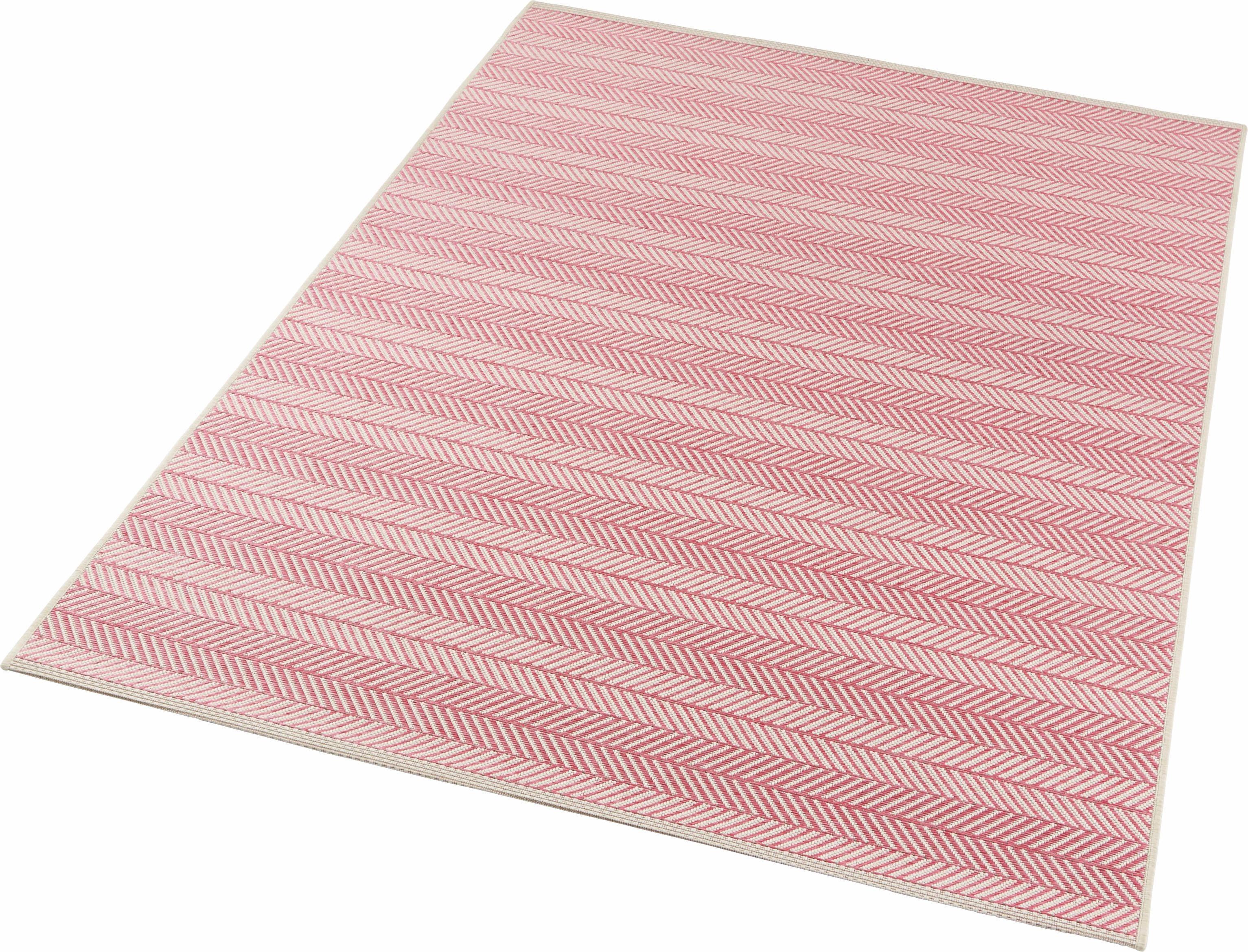 Teppich Caribbean bougari rechteckig Höhe 4 mm maschinell gewebt