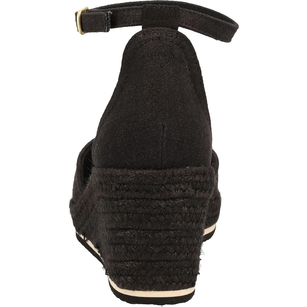 Gant Keilsandalette »Textil«