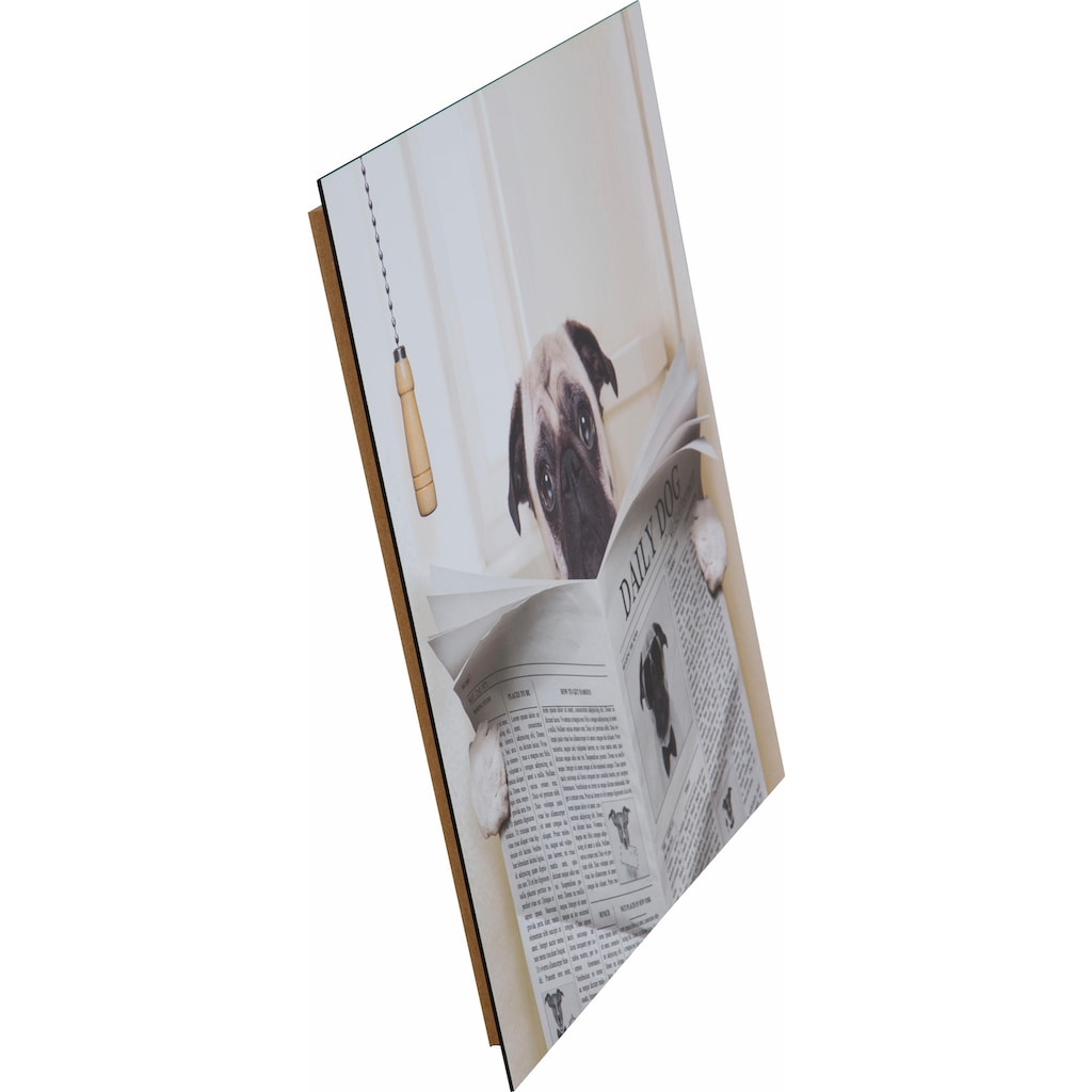 Home affaire Deco-Panel »In the bathroom«, 50/50 cm