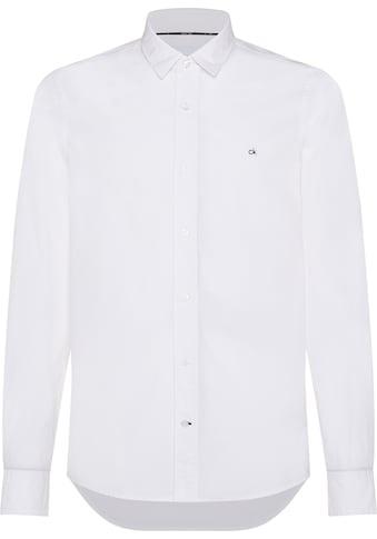 Calvin Klein Langarmhemd »SLIM FIT STRETCH POPLIN SHIRT« kaufen
