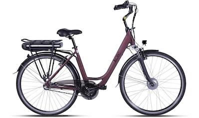 LLobe E - Bike »Metropolitan JOY rot 13 Ah«, 3 Gang Nabenschaltung, Frontmotor 250 W kaufen