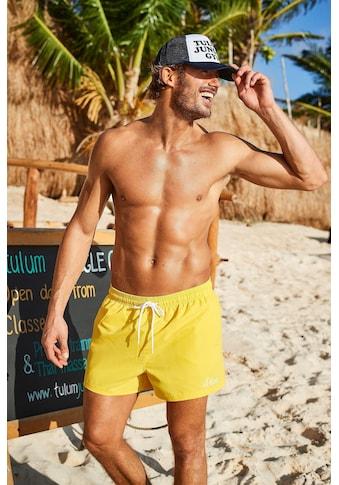 s.Oliver Beachwear Badeshorts, mit komplementärem Farbdesign kaufen