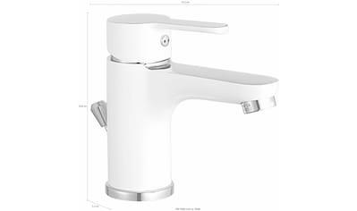 Eyckhaus bath & relaxing Waschtischarmatur »Bianco«, Hochdruck kaufen