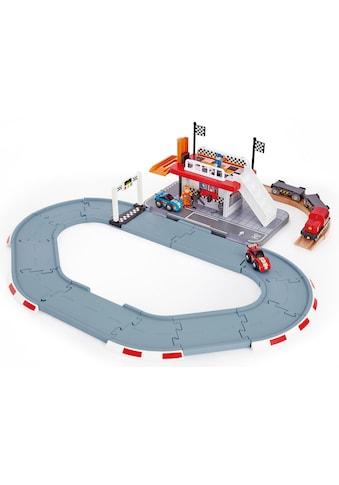 """Hape Spielzeug - Eisenbahn """"Rennstrecken - Station"""" kaufen"""