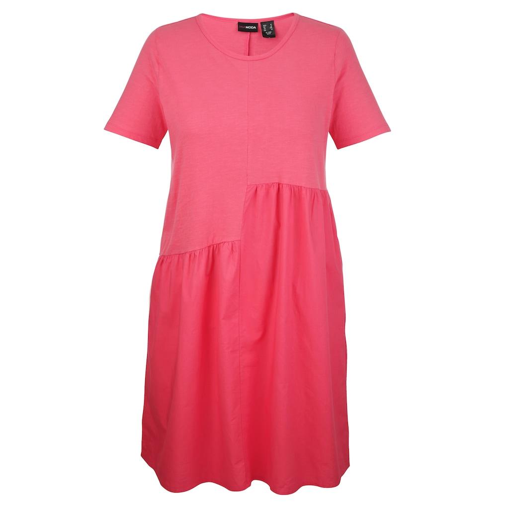 MIAMODA Sommerkleid, mit gewebtem Einsatz