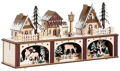 Weihnachtsdorf, LED-Lichtersockel kaufen