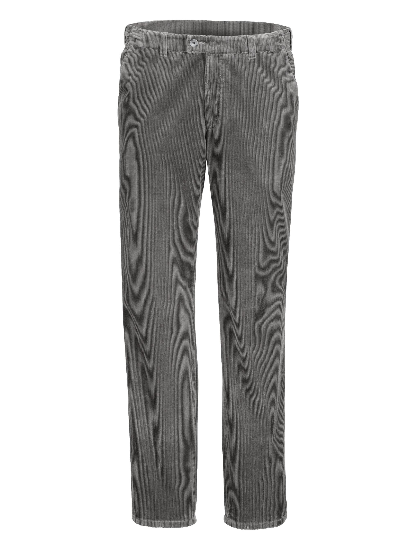 Babista Reisecordhose mit 7 cm mehr Bundweite | Bekleidung > Hosen > Cordhosen | Grau | Cord - Baumwolle | Babista