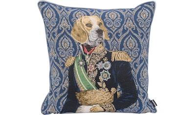 H.O.C.K. Dekokissen »Sir Barney«, mit Hundemotiv kaufen