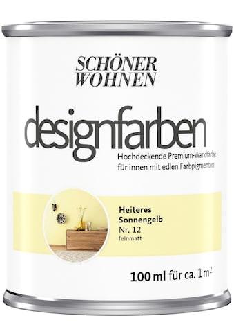 SCHÖNER WOHNEN-Kollektion Wand- und Deckenfarbe »Designfarben«, hochdeckend, Heiteres... kaufen