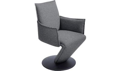 K+W Komfort & Wohnen Drehstuhl »Drive«, Sessel mit federnder Sitzschale, Drehteller in... kaufen