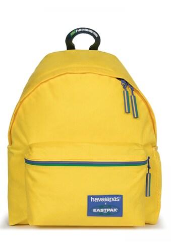 Eastpak Freizeitrucksack »HAVAIANAS PADDED PAK'R, Havaianas Yellow«, enthält... kaufen