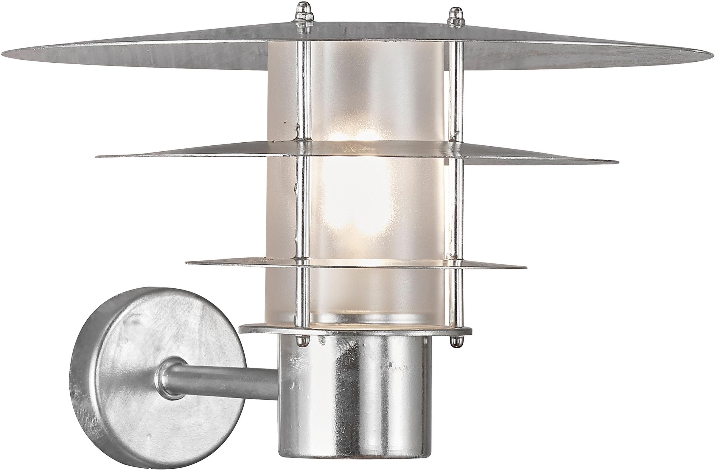 Nordlux Wandleuchte BASTIA, E27, 15 Jahre Garantie auf Korrosions, Seewasserfest, verzinkter Stahl