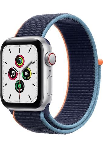 Apple Smartwatch »SE GPS + Cellular, Aluminiumgehäuse mit Sport Loop 40mm«, ( Watch OS... kaufen