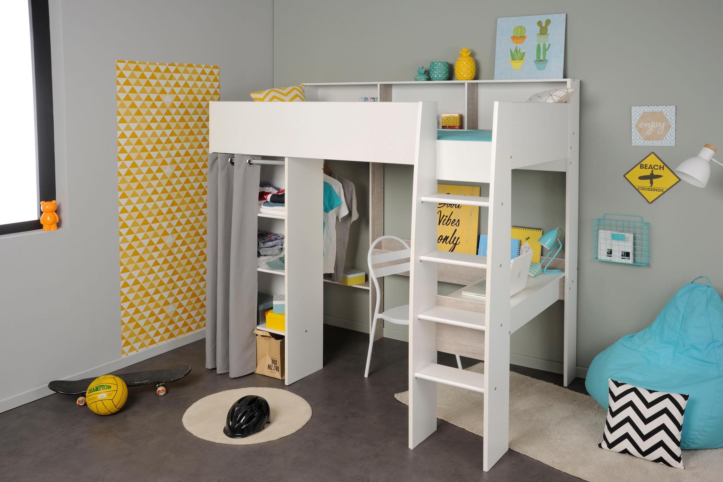 Etagenbett Ratenkauf : Kinderzimmer set tlg inkl etagenbett u kleiderschrank
