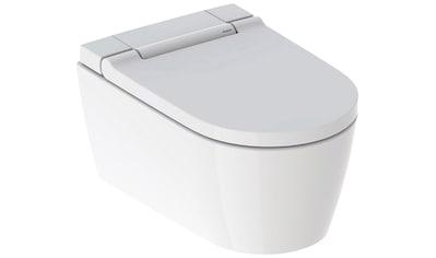 GEBERIT Tiefspül-WC »AquaClean Sela«, Wand-Dusch-WC mit WC-Sitz weiß, mit SoftOpening... kaufen
