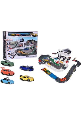 majORETTE Spiel-Gebäude »Porsche Experience Center«, inkl. 5 Autos kaufen