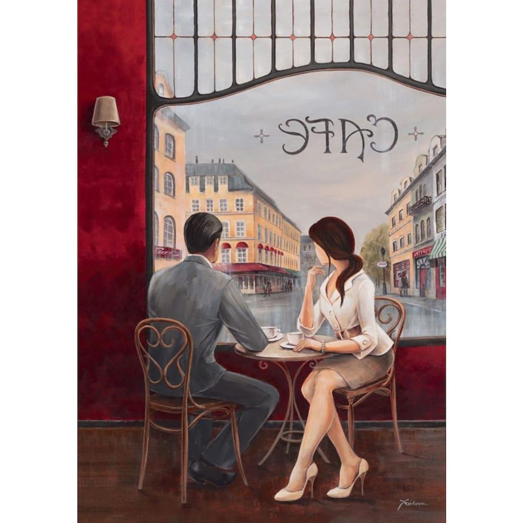 Home affaire Leinwandbild »Café«, 60/80 cm