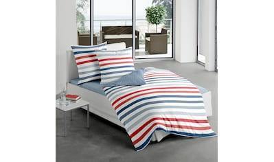 Wendebettwäsche »Marine Stripes«, BIERBAUM kaufen
