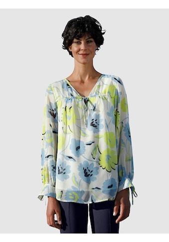 Dress In Druckbluse, mit schönem Blumendruck kaufen