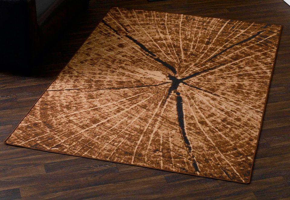 Teppich Baumstamm -Optik HANSE Home rechteckig Höhe 9 mm maschinell getuftet