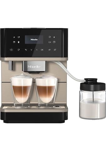 Miele Kaffeevollautomat »CM 6360 Obsidianschwarz CM« kaufen