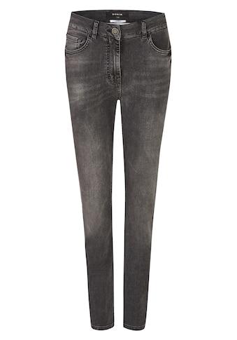 FRAPP Vielseitige Basic - Jeans mit Used - Waschung kaufen