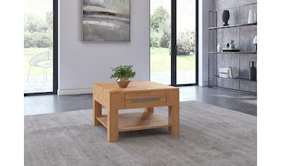 Woltra Couchtisch »Kolding«, Massivholz mit Schublade kaufen