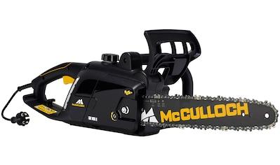 MCCULLOCH Elektro - Kettensäge »CSE 1835, 00096 - 71«, 35 cm Schwertlänge kaufen