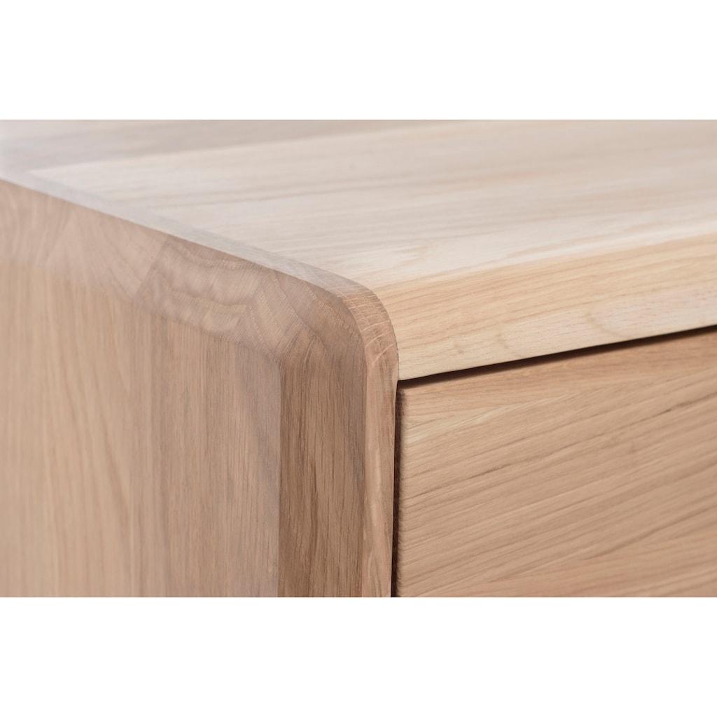Home affaire TV-Schrank »Infinity«, aus schönem Massivholz, mit vielen Stauraummöglichkeiten, Breite